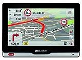 Becker revo.2 Navigationsgerät, 12,7cm (5'') Echtglas Bildschirm, 45 Länder, Truck & Camper Navigation Pro, lebenslange Kartenupdates und Premium-TMC, Anschluss für Rückfahrkamera, schwarz/silber