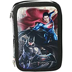 Dc Comics Batman Vs Superman Dawn Astuccio Portapastelli Portapenne Colori Pennarelli