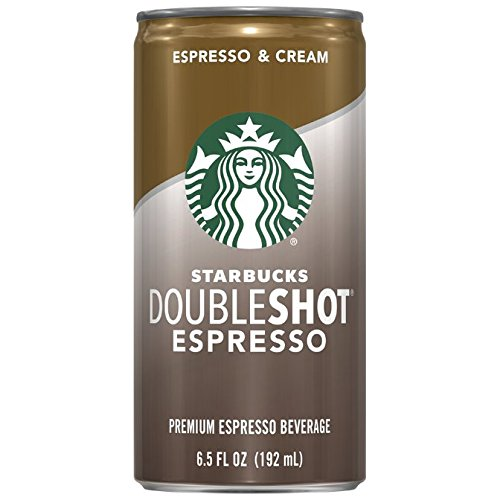 Starbucks Doubleshot, Espresso + Cream, 6.5 Ounce, 12 Pack (Starbucks Coffee Can compare prices)