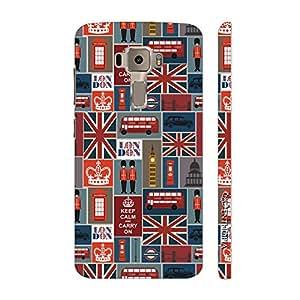 Enthopia Designer Hardshell Case London Calling 3 Back Cover for Asus Zenfone 3 ZE552KL