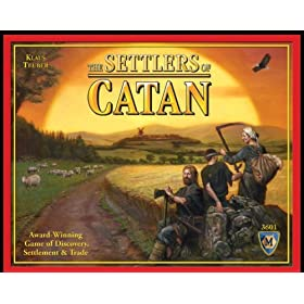 Settlers of Catan board game!