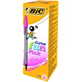 BiC Cristal Fun Ball Pen - Pink (Box of 20)