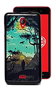 ECellStreet Silicon Soft Back Case Cover Back Cover for Micromax Canvas Unite 2 A106 - Birds