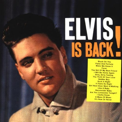 Elvis Is Back! artwork