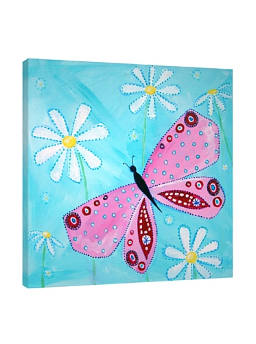 "Cici Art Factory 12""x 12"" Butterfly Garden, Canvas - 1"