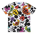 ミッキーマウス スティッチ・エンカウンター Tシャツ 【L】 ホワイト 2015 【東京ディズニーランド限定】