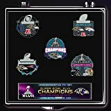 NFL 2013 Super Bowl Xlvii 47 Champions Baltimore Ravens - 5 Pin Set - Limited Ed. Only 5000 Made by Final Touch Gifts