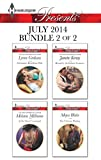 Harlequin Presents July 2014 - Bundle 2 of 2: Christakiss Rebellious Wife\At No Mans Command\Bound by the Italians Contract\The Ultimate Playboy