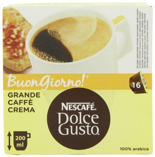 NESCAFÉ Dolce Gusto Caffè Crema Grandeb 16 Capsules (Pack of 3, Total 48 Capsules)