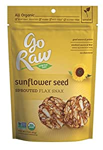 Freeland Flax Snax, Sunflower, 3-Ounce Bags  (Pack of 6)