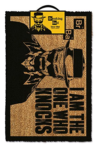 Breaking Bad Doormat I am the one who knocks 40 x 60 cm Pyramid International