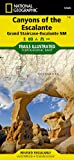 Canyons of the Escalante [Grand Staircase-Escalante National Monument] (National Geographic: Trails Illustrated Map #710) (Ti - Other Rec. Areas)