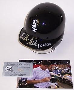 Carlton Fisk Autographed Hand Signed Chicago White Sox Mini Batting Baseball Helmet -... by Creative+Sports