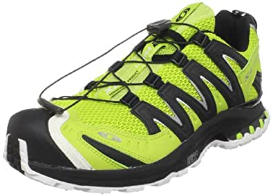 Salomon Men's XA PRO 3D Ultra 2 Trail Running Shoe,Pop Green/Black/Cane,9 M US