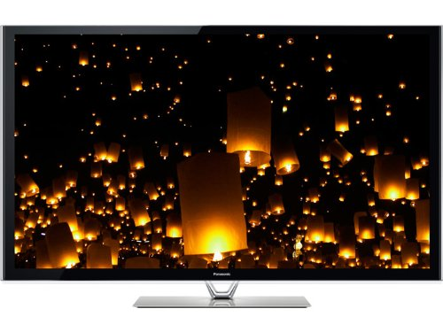 Panasonic TC-P60VT60 60-Inch 1080p 600Hz 3D Smart Plasma HDTV (Includes 2 Pairs of 3D Active Glasses and Built-in Camera)
