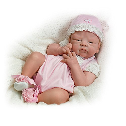 The Ashton-Drake Galleries: Welcome Home Newborn Baby Girl Doll And Extra Outfit by The Ashton-Drake Galleries
