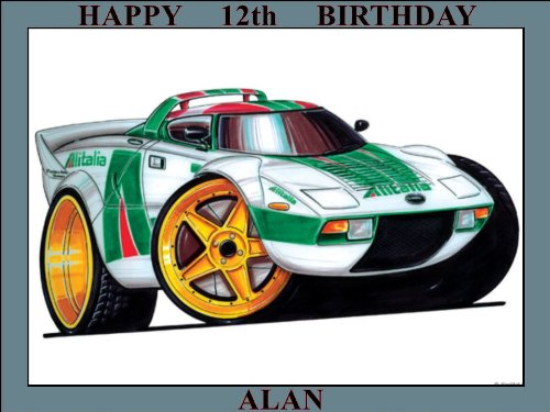 96-lancia-statos-rally-car-white-koolart-0096-personalised-10-x-75-icing-cake-topper-any-name-age-or