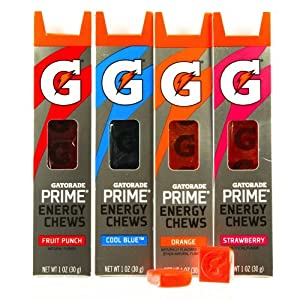 Gatorade G Series 01 Prime Energy Chews Mixed 4 Pack