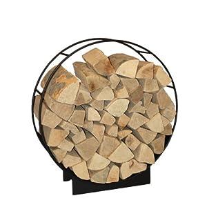 hark design kamin holzwiege holzkorb holzlege schwarz 75 cm k che haushalt. Black Bedroom Furniture Sets. Home Design Ideas
