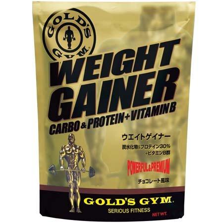ゴールドジム ウエイトゲイナー チョコレート風味 3kg: ゴールドジム