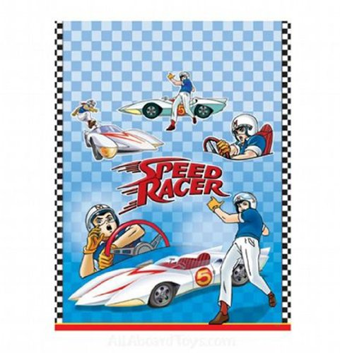 Speed Racer Plastic Table Cover (1ct)