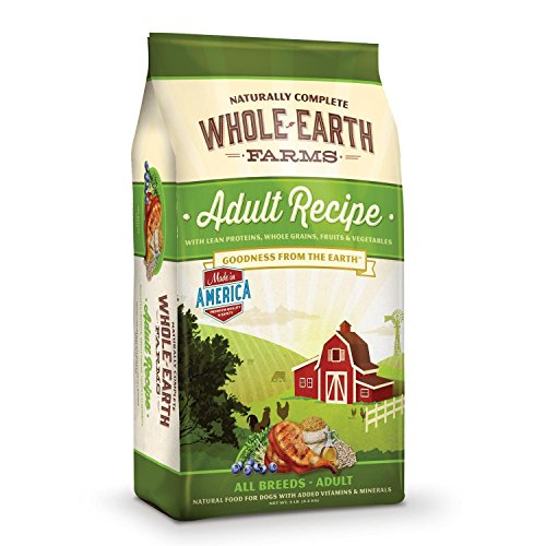 Merrick Whole Earth Farms Adult Recipe Dog Food 5 Lb (Pack Of 2)