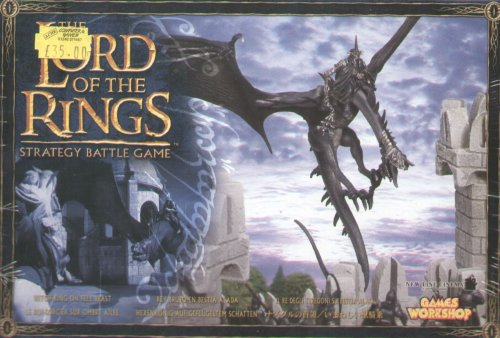Games Workshop Lord of the Rings Witchking on Fell Beast
