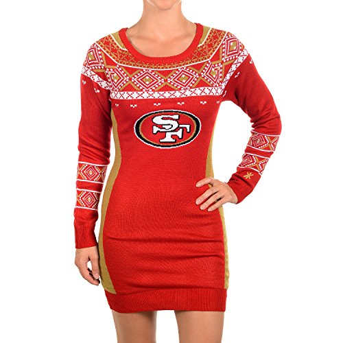 NFL Football Womens Sweater Dress