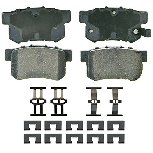 Wagner QuickStop ZD537 Ceramic Disc Pad Set, Rear (2007 Honda Accord Rear Brake Pads compare prices)
