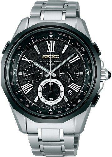 SEIKO (セイコー) 腕時計 BRIGHTZ ブライツ クロノグラフ ソーラー 電波時計 SAGA045 メンズ