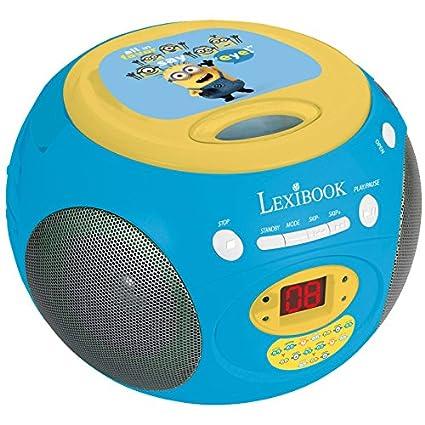 LEXIBOOK- RCD102DES - Radio Lecteur CD Minions