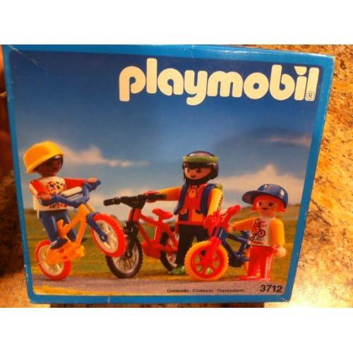 Amazon.com: Vintage Playmobil 3712 Mountain Biking Bicycles BMX
