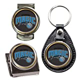 NBA Orlando Magic Key Chain, Money Clip & Magnet Clip Set by NYC Leather Factory Outlet
