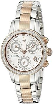 Bulova Women's 65R149 Masella Analog 2-Tone Watch