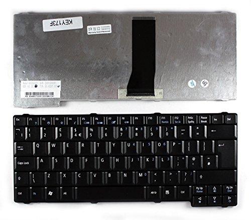 Keyboards4Laptops Fujitsu Siemens Amilo Pro V3525, Fujitsu Siemens Amilo Pro V3545, Fujitsu Siemens Amilo Pro V8210 Schwarz Vereinigtes Königreich kompatible Ersatz tastatur