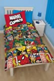 Disney Marvel Comics Defenders Single Rotary Duvet Set