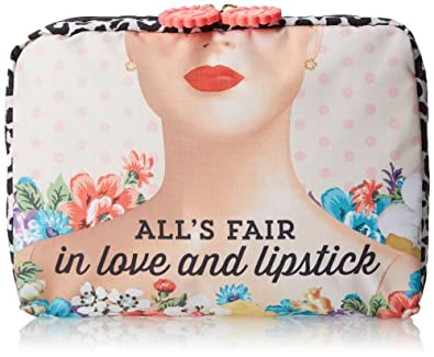 LeSportsac x Benefit Lepout Cosmetic Case,Love/Lipstick,One Size
