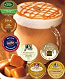 14 K-cup CARAMEL DREAM K-cup Sampler Pack, You Are Guaranteed 7 Different types of Caramel k-cups! Caramel Drizzle, Caramel Vanilla Cream, Butterscotch+
