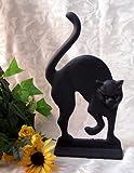 Cast Iron Black Cat Doorstop