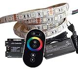 5 Meter RGB LED Streifen Set inkl. Controller