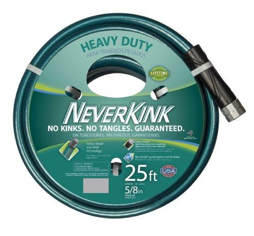 NeverKink 8615-25 Series 2000 Ultra Flexible Garden Hose, 5/8-Inch by 25-Feet