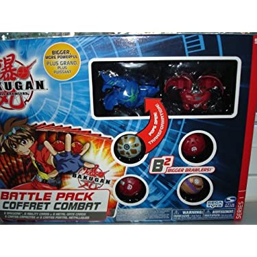 Bakugan B2 Battle Pack   Color May Varies