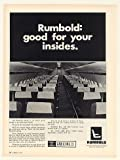 1969 Rumbold Airplane Aircraft Seats Seating Print Ad (49775)