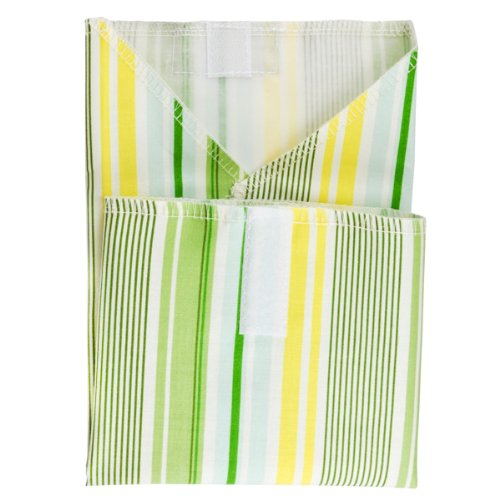Planet Wise Sandwich and Snack Bags (Sandwich Wrap, Spring Stripe) - 1