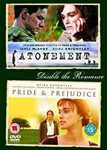 Pride And Prejudice/Atonement [DVD]