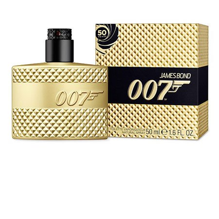 James Bond 007 Limited 50th Anniversary Edition Gold Profumo Uomo di Eon Productions - 75 ml Eau de Toilette Spray