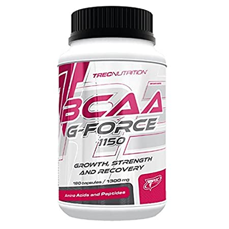 BCAA G-FORCE 1150 - 180 CAP / Ultimate Growth, Strength And Recovery Formula!