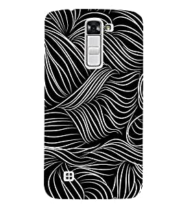EPICCASE Abstact Pattern Mobile Back Case Cover For LG K7 (Designer Case)