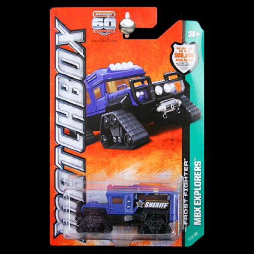2013 Matchbox - MBX Explorers - Frost Fighter (Sheriff) - 1