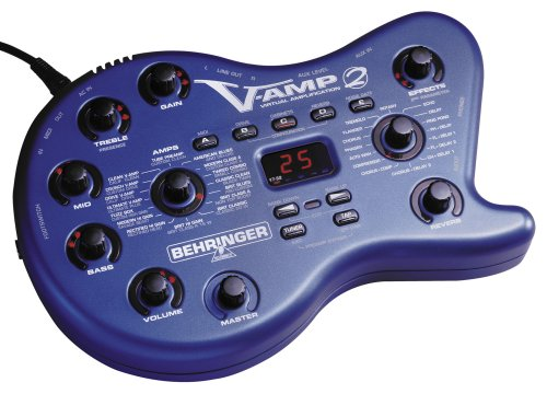 Behringer V-Amp 2 - Virtual Guitar Amplifier With Tube Simulation And Digital Multi-Effects Processor